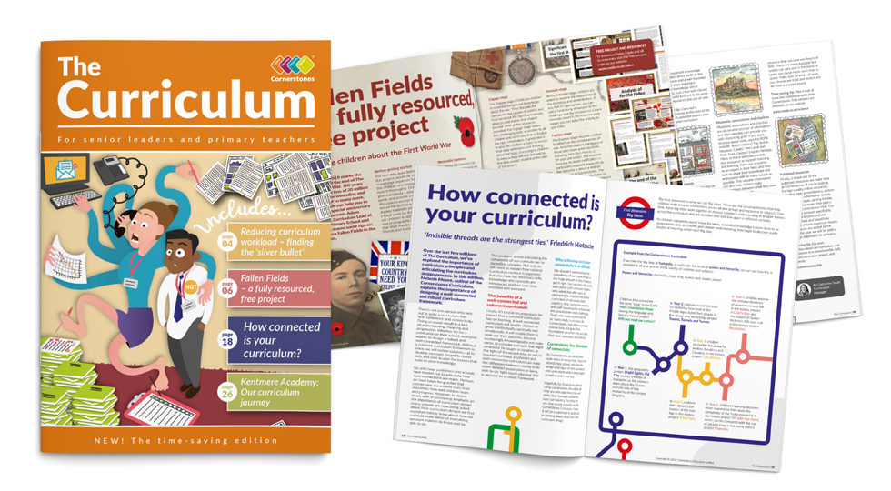The curriculum magazine - well-connected curriculum framework article