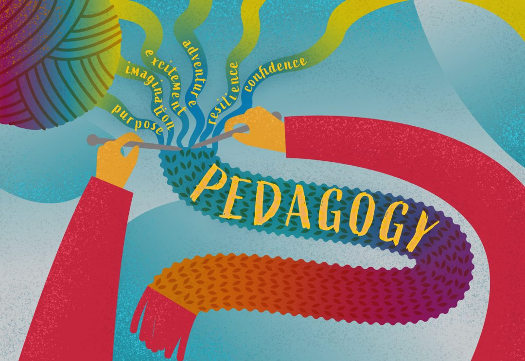 Pedagogy: is yours distinct from your curriculum?