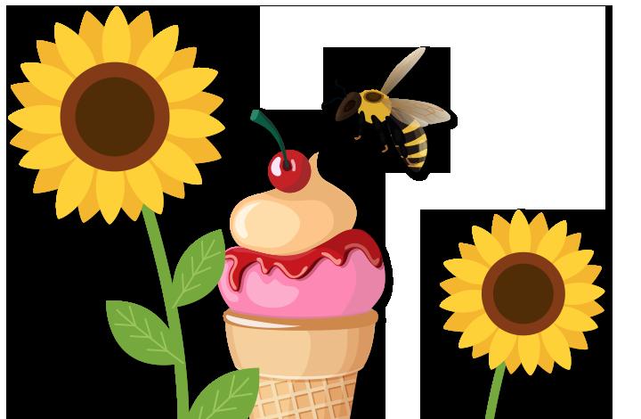 Sunshine and Sunflowers
